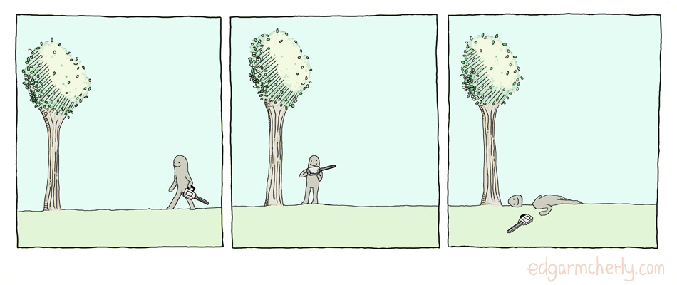 one two tree comic