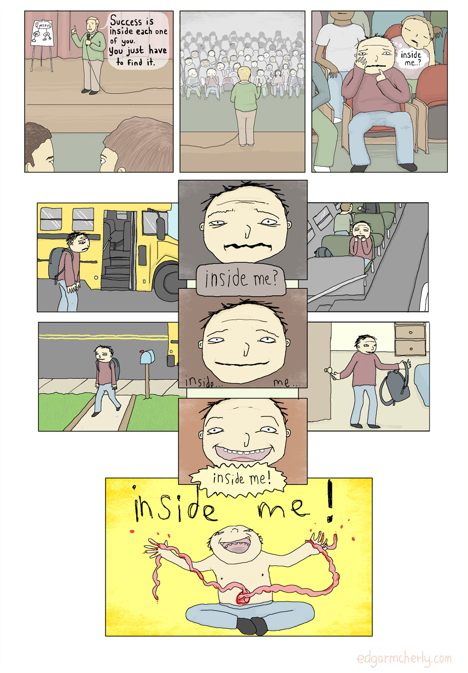 success is inside you comic